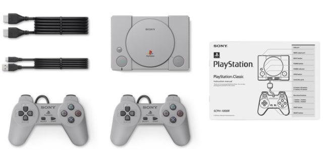PS Plus 會員有得預訂!  PlayStation Classic 將內置 20 款經典遊戲