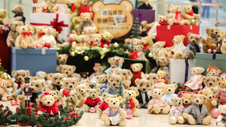全球首隻4米高國王泰迪熊 過百隻 Steiff 泰迪熊陪你過聖誕節