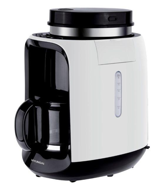韓國 Hyundai 超抵玩全自動 咖啡機  磨豆、沖泡咖啡一機搞掂
