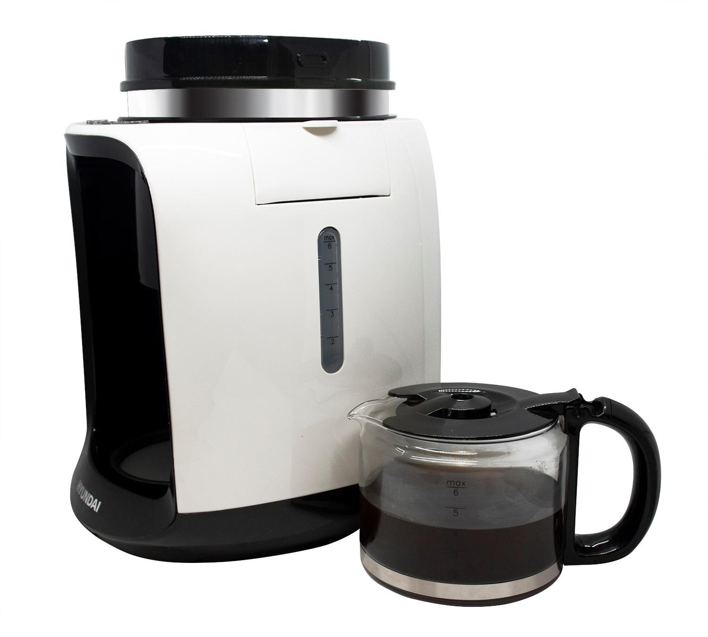 韓國 Hyundai 全自動咖啡機  磨豆、沖泡咖啡一機搞掂超抵玩