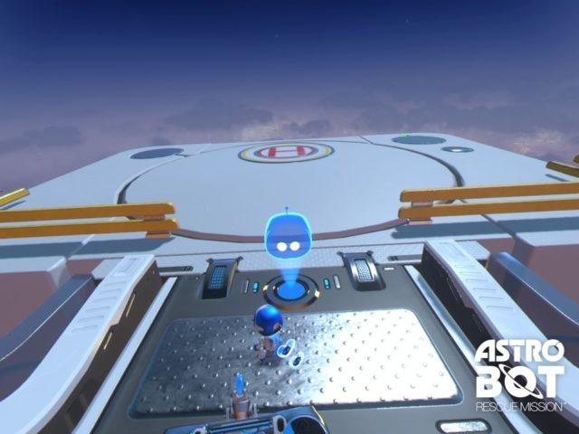 PS VR 直觀操控 《 ASTRO BOT Rescue Mission 》多角度拯救小機械人