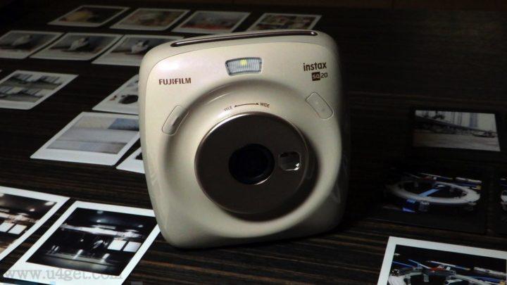 混合式即影即有相機 FUJIFILM instax SQUARE SQ20 睇啱先印