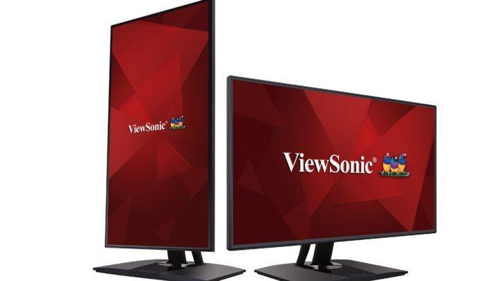 ViewSonic 推出 32 吋 UHD VP3268-4K 顯示器  支援 HDR10 色彩更準確