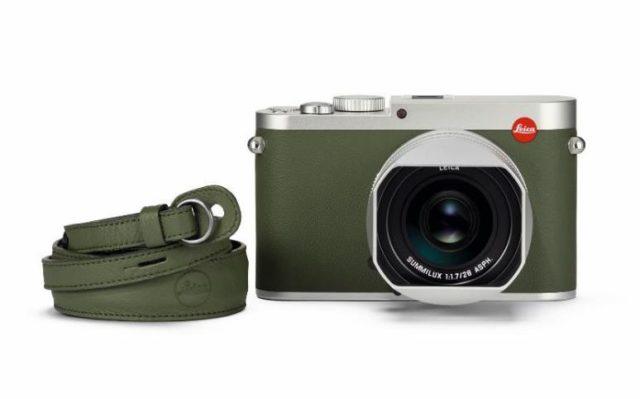 Leica Q 'Khaki'全新特別版 卡其色真皮飾邊限量 495 部
