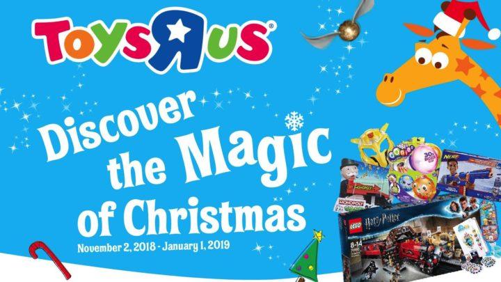 玩具反斗城「 感受奇妙聖誕 」傳遞節日關愛    特設慈善玩具捐贈