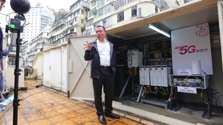 3HK 完成 3.5 GHz / 28 GHz 頻段 5G 室外網絡測試做直播