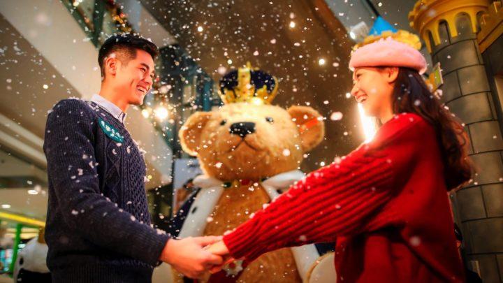 全球首隻 4 米國王泰迪熊+ Steiff 藏品展出  過百隻泰迪熊陪你過聖誕