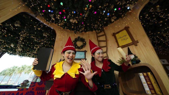 赤柱變芬蘭? 聖誕市集 7 米高精靈之家+聖誕羊坐鎮