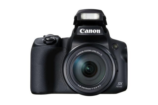4K 拍片兼有收音咪輸入  Canon PowerShot SX70 HS 開賣 HK$3,980