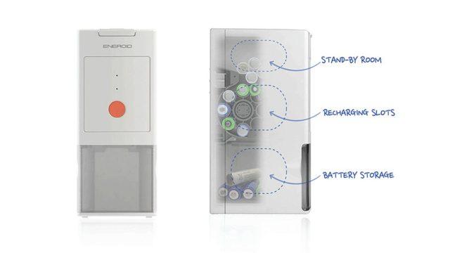AA 電池源源不絕? 閃燈救星 Eneroid Plus 自動充電塔 充電