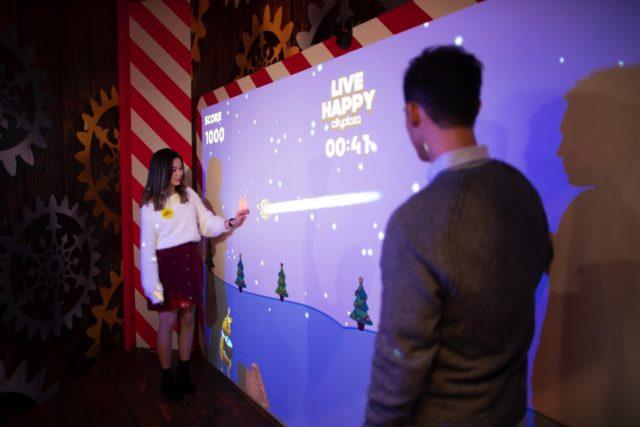 馴鹿集結玩轉《 哈鹿聖誕 》 互動遊戲身手大比拼