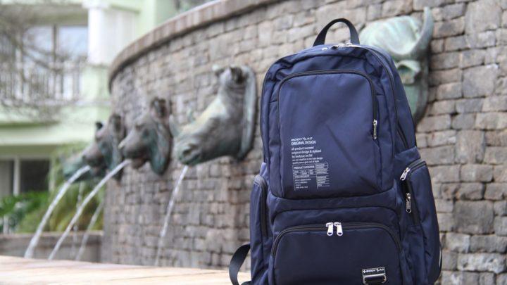 防盜扣 / 防潑水 / 超輕物料 日用袋品牌 BODYSAC 新款登場