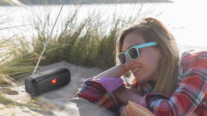 具備 FM 功能便攜式藍牙喇叭 JBL Tuner FM