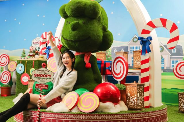 Snoopy 粉絲招喚!  Harbour North x Snoopy Christmas Garden