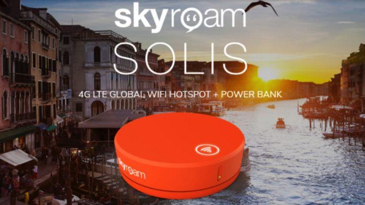 聖誕新年出走外地  漫遊神器 Skyroam 送 3 個月免費數據漫遊
