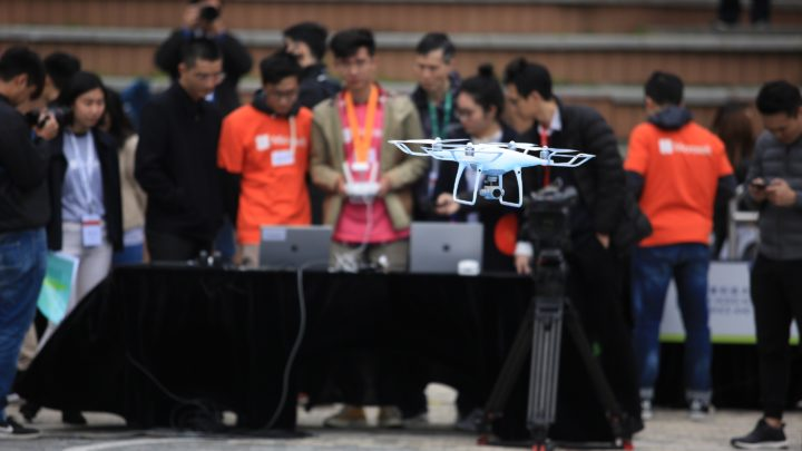 Microsoft 與 DJI 合辦香港首個大專聯校 AI x 無人機大賽
