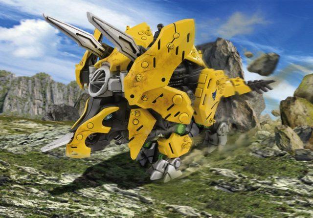 TAKARA TOMY 《 索斯機械獸 激戰本能 》 8 款新機械模型登場