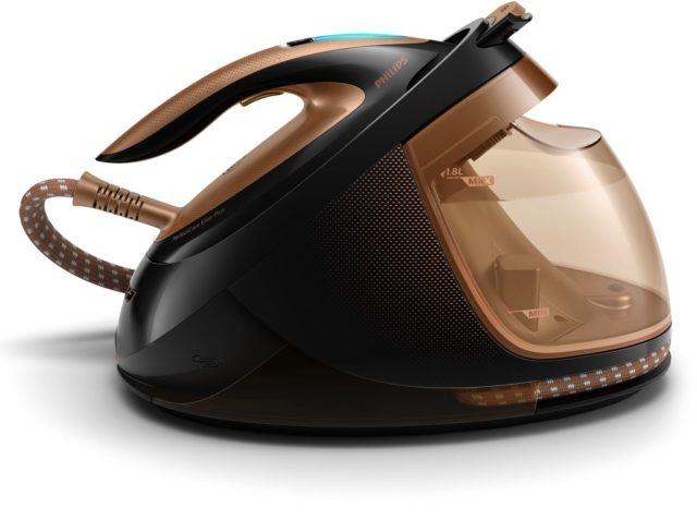 橫熨直熨點熨都得   Philips PerfectCare Elite Plus 免調校壓力式蒸氣熨斗
