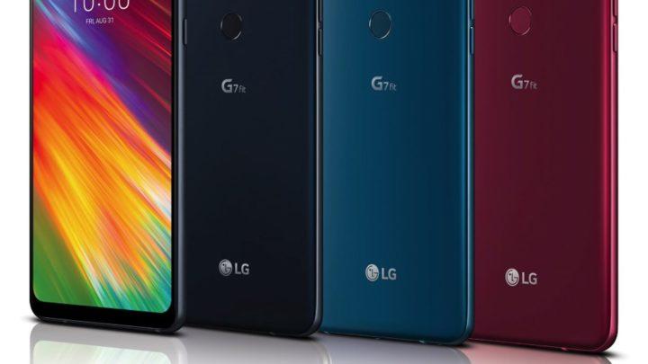 G7 瘦身版登場  LG G7 Fit 6.1 吋大屏幕賣 HK$2,998