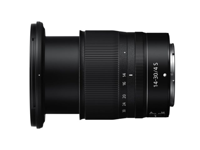 Nikon introduces its first filter-attachable NIKKOR Z 14-30mm f/4 S