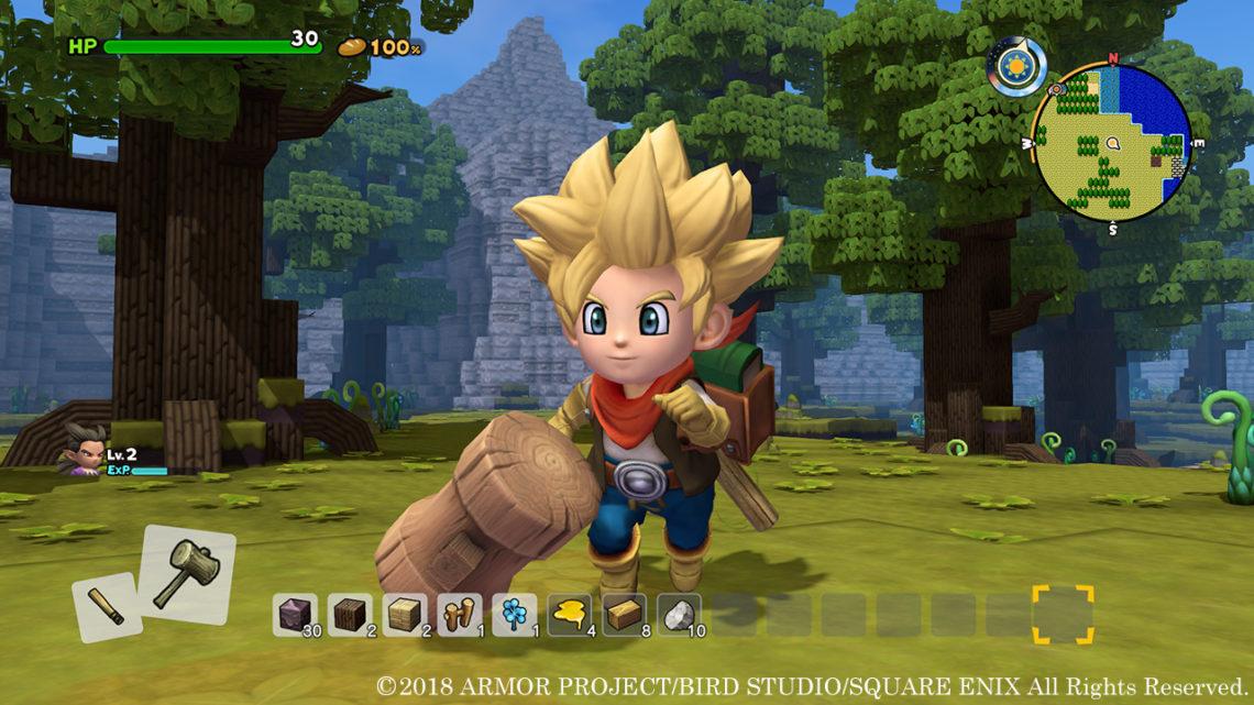 《 勇者鬥惡龍 創世小玩家 2 破壞神席德與空蕩島 》  繁體中文版發佈免費體驗版