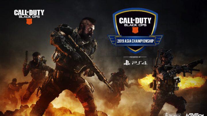 PlayStation4 《 決勝時刻:黑色行動4 》 2019 亞洲盃詳情公佈