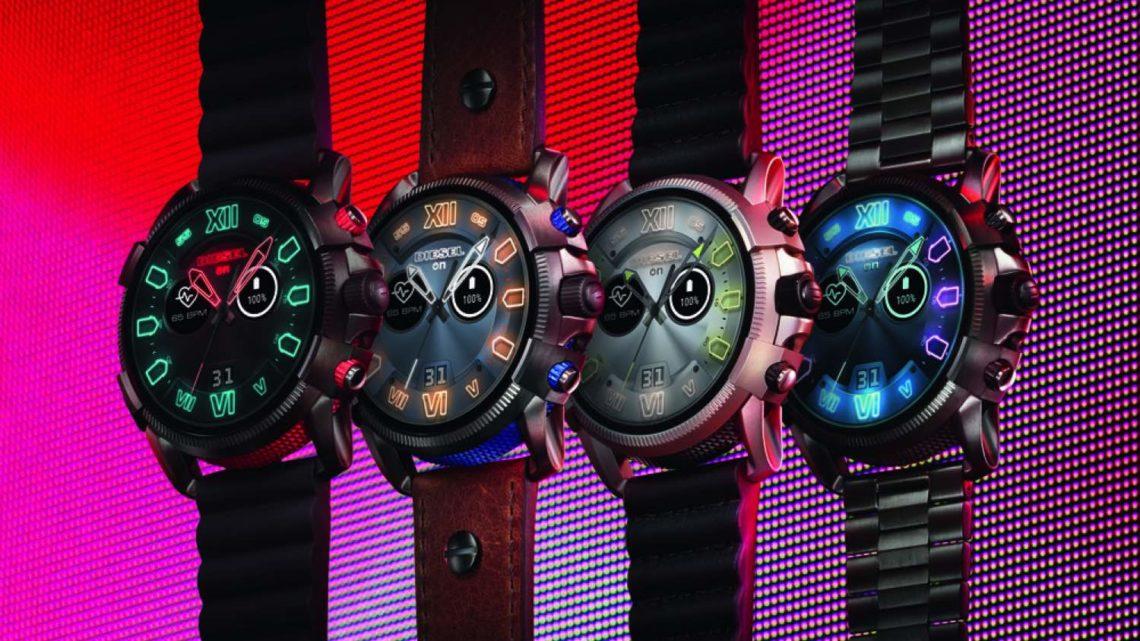 2019 年春季腕錶系列  DIESEL Full Guard 2.5 智能手錶狂野外型