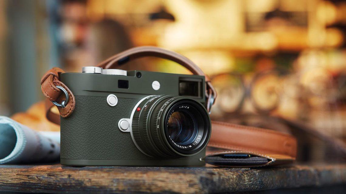 橄欖綠限量系列新成員  Leica M10-P Safari 限量版套裝