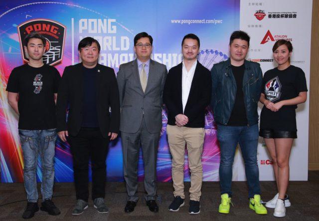 第二代 PONGConnect 登場 投杯球世界錦標賽 2019 香港區對壘外國勁旅