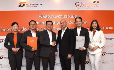 泰納昌銀行同意與全球金融科技公司Beehive亞洲建立新的合作關係