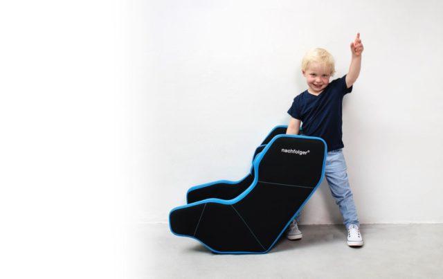 NACHFOLGER HY5 可摺疊 兒童汽車安全座椅  快速電子充氣防撞擊保護