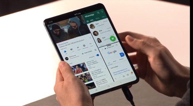 摺芒機終於現身! Samsung Galaxy Fold 開屏 7.3 吋屏幕變平板