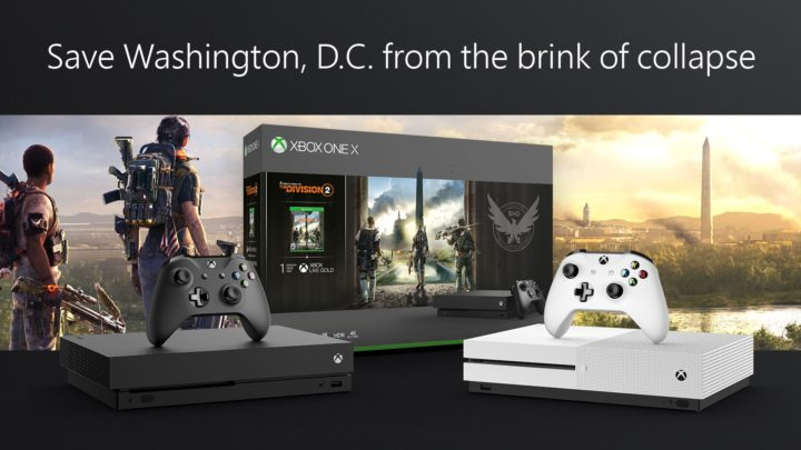 《 The Division 2 》Xbox One S 及 Xbox One X 主機套裝 3 月 15 日推出