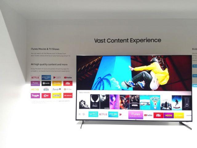 Samsung 2019 年全新 QLED 電視系列登場  8K 人工智能電視影像升頻