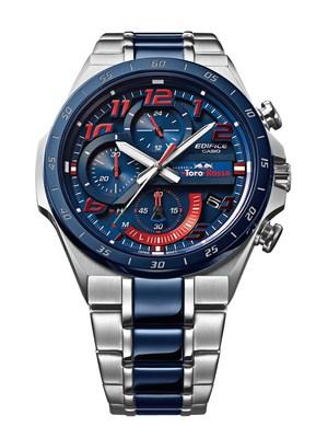 The new Casio EDIFICE Scuderia Toro Rosso Limited Edition chronograph EQS-920TR