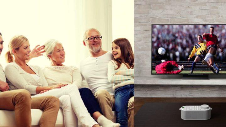 手提電視遙控 + 無線喇叭 ?   Sony 推出手提電視遙控揚聲器為長者而設