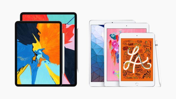 iPad Air / iPad mini 雙雙現身  支援 Apple Pencil 新增 A12 晶片
