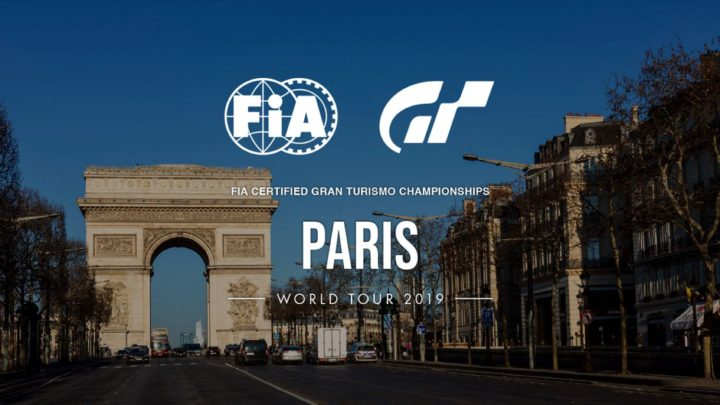 FIA 官方認證 GRAN TURISMO Championships 2019 系列賽  將在巴黎揭開序幕