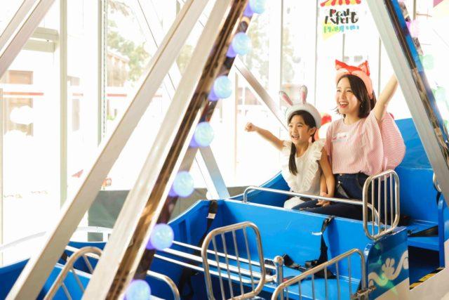 We Go MALL《 復活節 親子遊園 》 15 呎高充氣迴旋木馬彈床登場