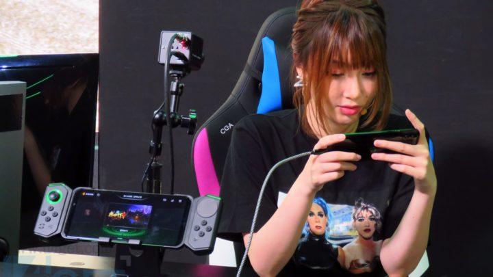 第二代遊戲手機現身   黑鯊2 最強散熱開「燒雞模式」食雞反應快