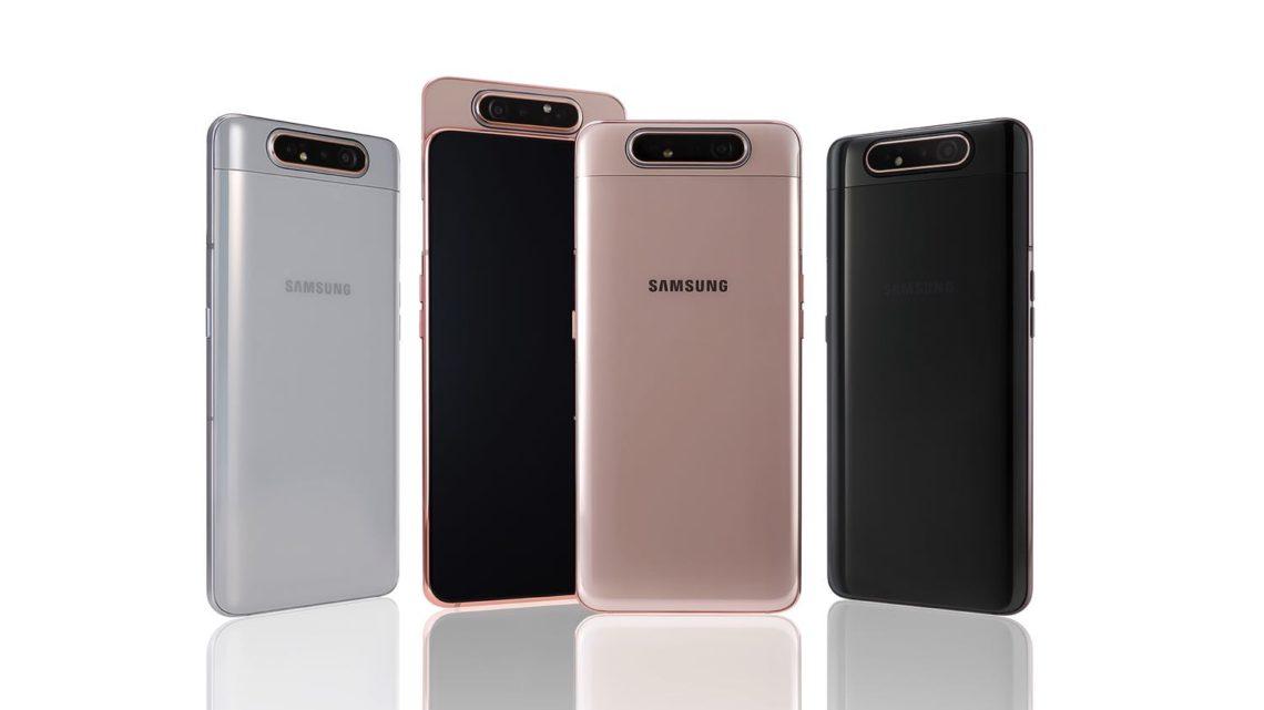 唔使屏幕開窿!  Samsung Galaxy A80 滑頂「翻鏡」主鏡頭變前鏡頭