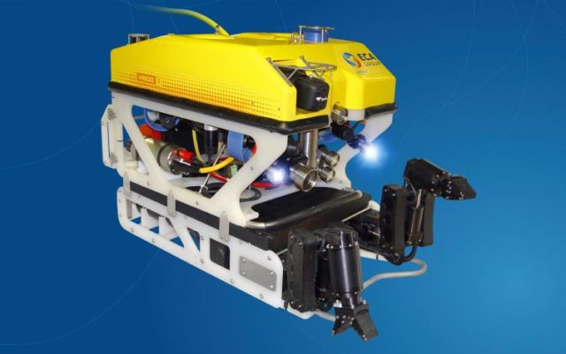 第 14 屆工程及科技學會/MATE 香港區 - 水底機械人挑戰賽 水中任務鬥一番
