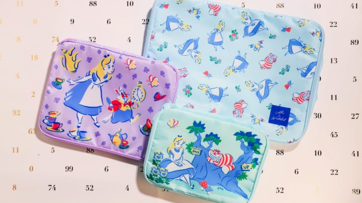 「愛麗絲」闖入 7-Eleven  《 愛麗絲夢遊仙境 》限量版旅行收納袋套裝