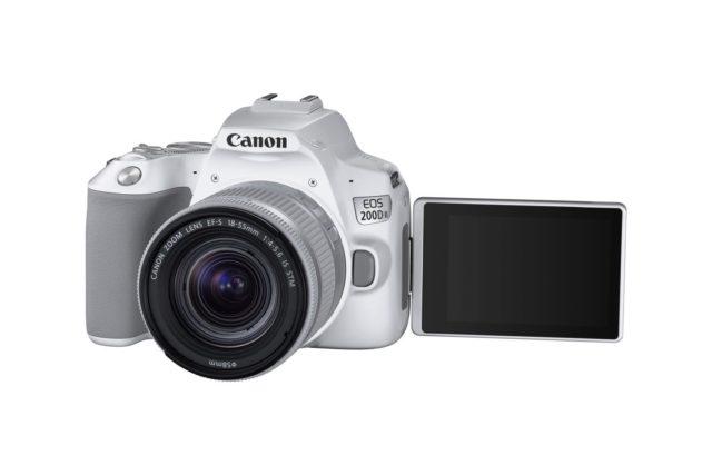 發揮 4K 拍片優勢 全球最輕多角度 DSLR 相機 Canon EOS 200D II 開售