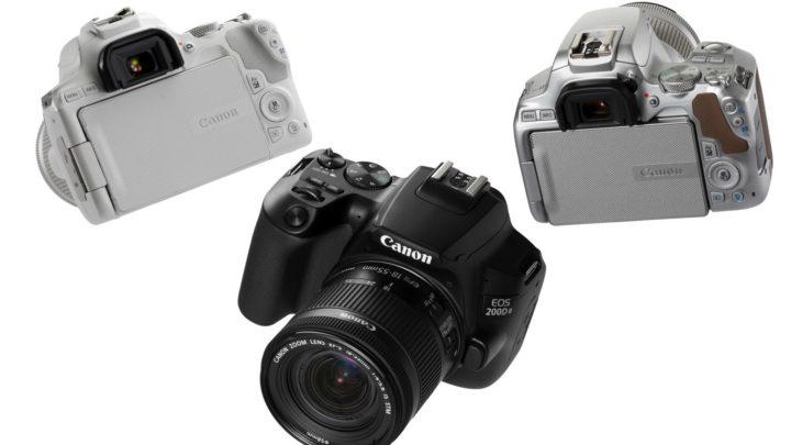 發揮 4K 拍片優勢  全球最輕多角度 DSLR 相機 Canon EOS 200D II 發布
