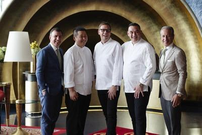 三大星級名廚坐鎮卓美亞帆船酒店