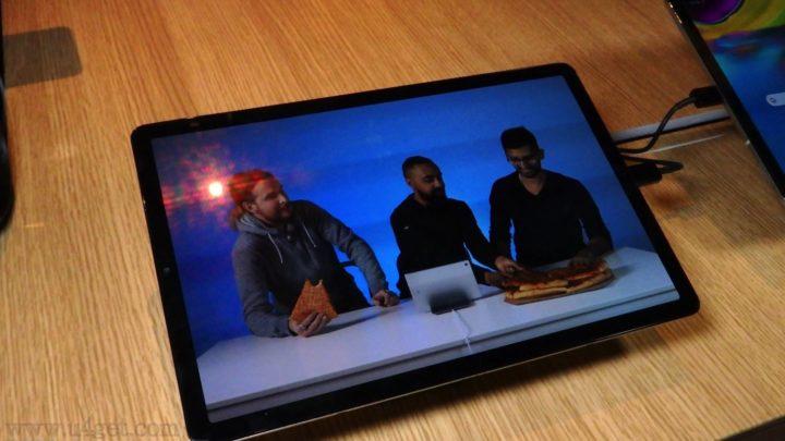 5.5mm 超薄兼可平板當電腦用  Samsung Galaxy Tab S5e 內置 DeX 轉文書界面