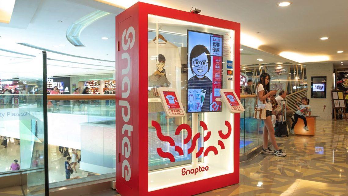 全港 20 部自助 T-shirt 售賣機 Snaptee x Sanrio 自印靚 T-shirt