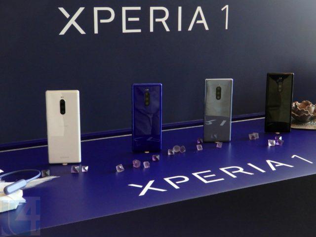 CinemaWide 4K OLED 屏幕加眼睛追焦  Sony Xperia1 香港登場