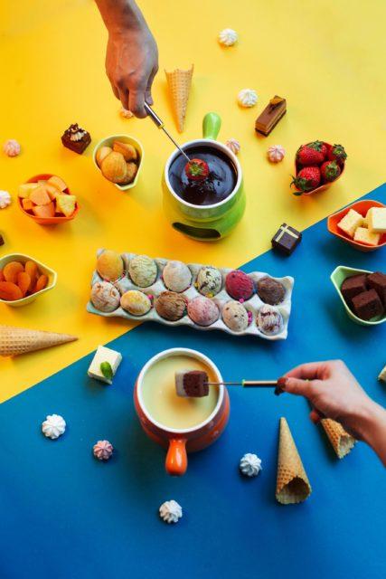 普慶餐廳推 Mövenpick 雪糕火鍋下午茶 自助餐  無限添加黑白朱古力火鍋